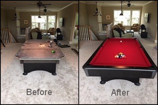 expert pool table recovering in Elmira content img3